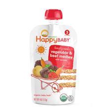 再降价: Happy Baby 禧贝 有机牛肉蔬菜藜麦果泥 3段 39.3元
