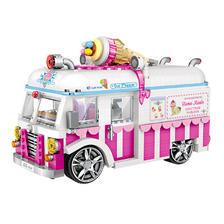 LOZ 俐智 小颗粒微钻积木 仿真冰淇淋车 79元包邮(需用券)