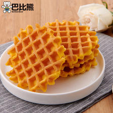 巴比熊华夫饼原味芝士营养早餐蛋糕 ¥25