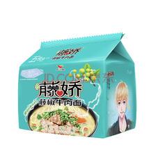 ¥8.91 Uni-President 统一 藤娇 藤椒牛肉面 102g*5袋