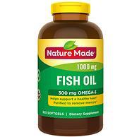 半年量:Nature Made 天维美 Omega-3鱼油 320粒 prime会员凑单103元包税(京东199元