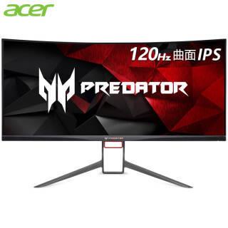 宏碁(acer) Predator 掠夺者 X34P 34英寸 IPS曲面电竞显示器(3440×1440、G-Sync、120Hz) 5688元