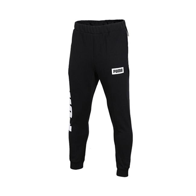 【预售】PUMA彪马官方 男子拼色 Logo 针织长裤 预售价99