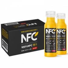 苏宁易购 农夫山泉 NFC果汁饮料 300ml*24瓶 131.9元 包邮(合5.5元/瓶)