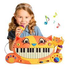 ¥169 【嗯哼同款】B.Toys比乐大嘴猫钢琴儿童启蒙益智音乐电子琴2岁+