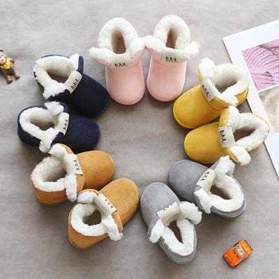 新款 婴儿软底加绒保暖学步鞋 券后19.8元