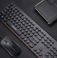 英菲克 朋克键盘 黑色版 104键 19.9元包邮