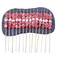 京东商城 草原宏宝 羔羊肉串 500g/袋*4件+凑单品 149.5元(合1.79元/串)