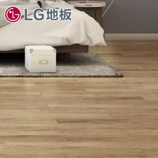 LG木纹自粘地板环保石塑地板无味PVC地板贴片材耐磨家用商用办公用厚2.0mm DEWN2752 36.8元