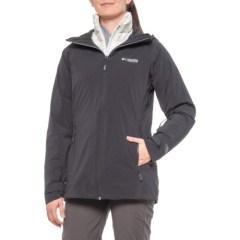 码全多色可选~Columbia 哥伦比亚 Snow Rival 女士三合一防水冲锋衣