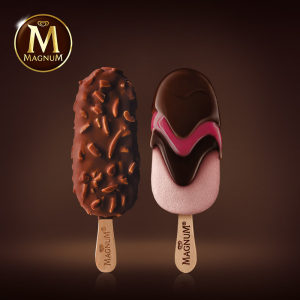 和路雪 梦龙 冰淇淋14支 红覆盆子6支+松露巧克力8支 110元包邮