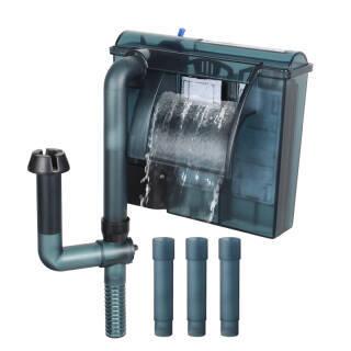 森森(SUNSUN) 森森佳璐LBL-403壁挂式过滤器三合一外置鱼缸水循环泵小型水族箱瀑布式水泵(先加水后使用) 24.9元