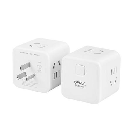 OPPLE 欧普照明 小魔方插座 无线总控一转四 15.9元包邮 ¥16
