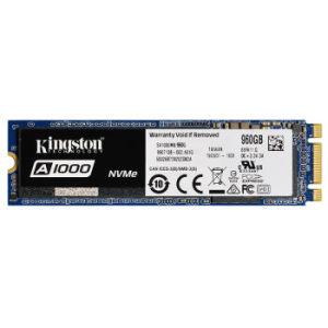 ¥989 Kingston 金士顿 A1000 M.2 NVMe 固态硬盘 960GB