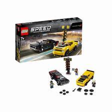 网易考拉黑卡会员: LEGO 乐高 超级赛车系列 75893 2018道奇挑战者SRT和1970道奇