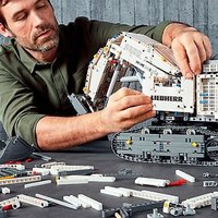 $449.99双倍积分 手机蓝牙遥控 LEGO官网 机械组旗舰款 Liebherr R 9800 挖掘机42100
