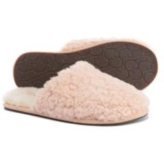 仅限6码~UGG Australia Pearle Curly Cue 毛绒拖鞋