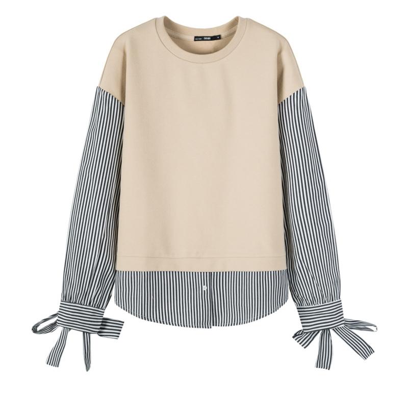 ¥29.9 森马卫衣女 针织打底衫