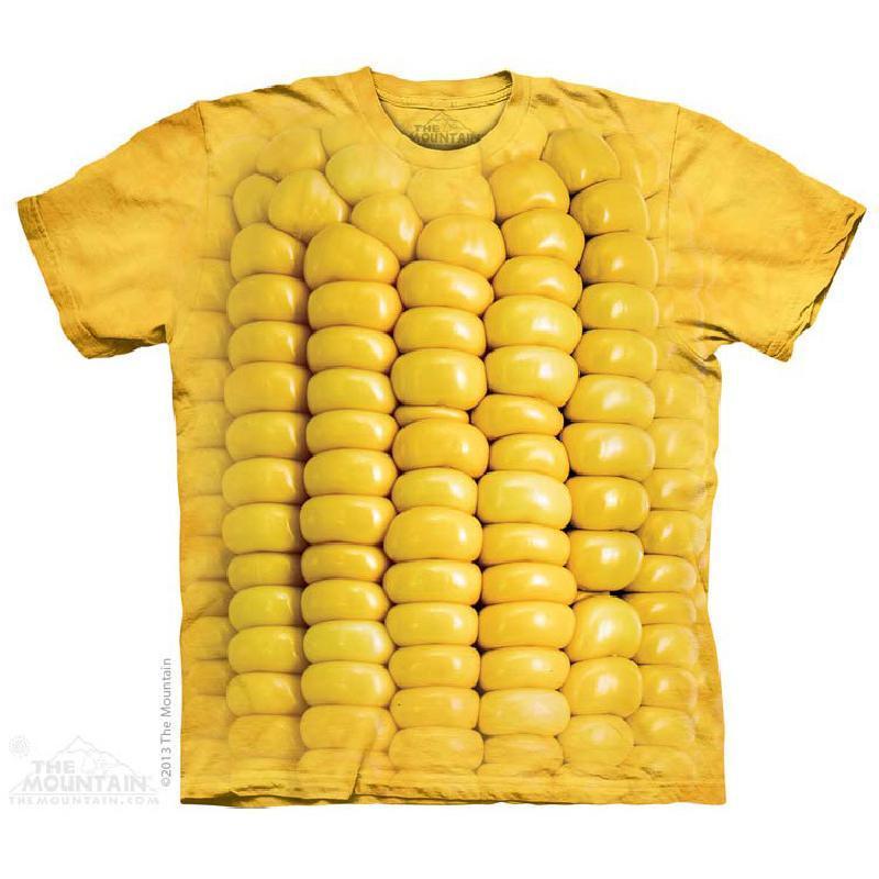 ¥69 The Mountain3DT恤短袖圆领男女情侣款立体玉米粒美国正品103702