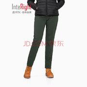 京东PLUS会员、运费券收割机: INTERIGHT 7660272 女士修身束脚长裤 低至27元'