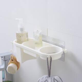 Quail 浴室置物架 北欧白  券后8.9元包邮