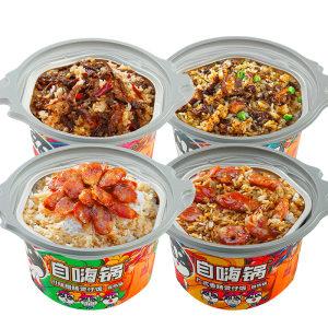 天猫超市 自嗨锅 自热煲仔饭 4桶装 40.9元包邮 线下18元/桶