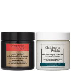 Christophe Robin 海盐舒缓洗发膏 刺梨发膜套装 250ml×2