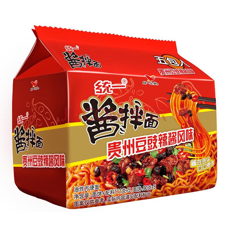¥9.9 统一 贵州豆豉辣酱风味 111克*5包