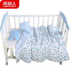 南极人(Nanjiren) 婴儿空调被卡通儿童夏凉被子幼儿园午睡被婴儿床用品 蓝色