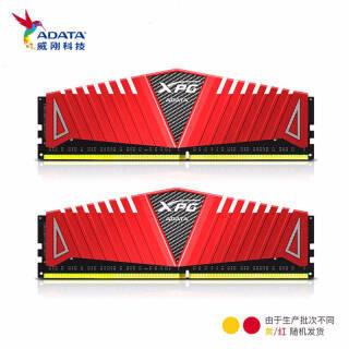 威刚(ADATA)DDR4 8G/16G 台式机内存条 XPG游戏威龙 套条 3000 频率 414元