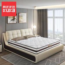顾家家居(KUKa) 城市森语 邦尼尔整网弹簧床垫 1399元