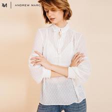 ANDREW MARC 女士雪纺波点衬衫 低至33元