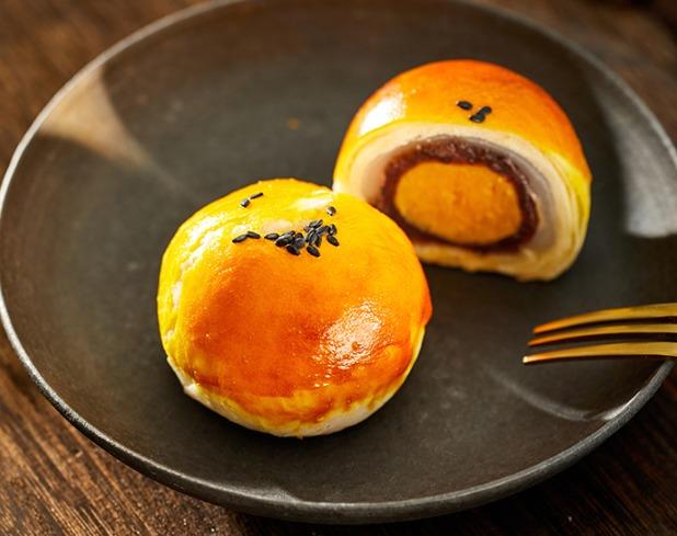 ¥12.9 螺滋螺味 红豆雪媚娘蛋黄酥 55g*6枚