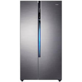 海尔(Haier)520升双变频风冷无霜对开门冰箱精控多路送风90°自动悬停门纤薄机身BCD-520WDPD 3799元