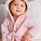 $20.40(原价$34) 包邮包退Little Me 婴儿连帽浴袍促销 软萌可爱,三款可选