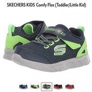 特价$22.99美金!SKECHERS KIDS Comfy Flex 童款运动鞋 (¥181.16) 须转运'