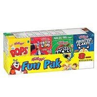 8盒仅$2.38 每盒只需$0.3Kellogg's 早餐麦片混合口味8盒