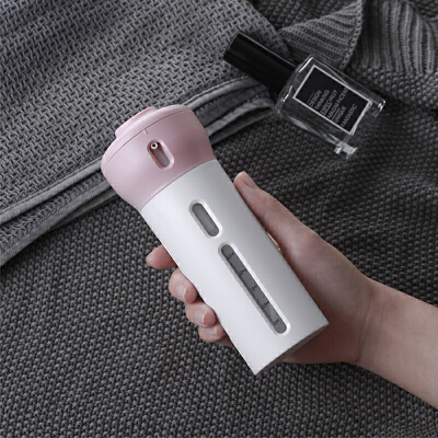 新客专享: 当当优品 旋转旅行分装瓶 四合一套装 粉色 9元包邮(需用码)