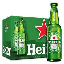 喜力(Heineken)啤酒500ml*12瓶 整箱装 *3件 281.2元(合93.73元/件)