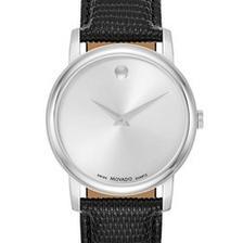 折合1144.8元 MOVADO 摩凡陀 Museum 2100001 男士时装腕表