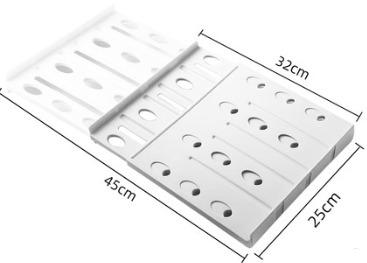 ¥6.8 昕昕 衣柜分层隔板 32-45cm 25cm宽