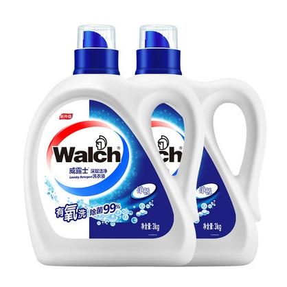14日10点、88VIP:Walch 威露士 深层洁净洗衣液 6kg 33.15元包邮(需用券) ¥65