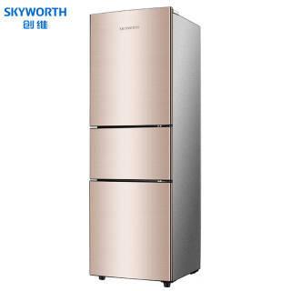 创维(Skyworth) W21A 三门冰箱 210升 1399元