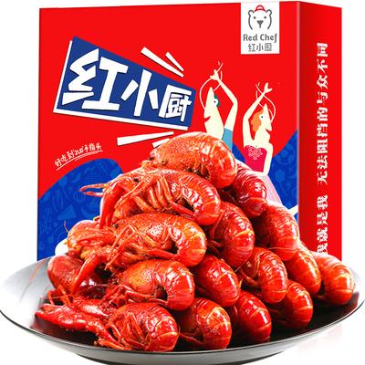 红小厨 湖北麻辣十三香小龙虾3.6斤 券后54.9元