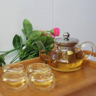 高硼硅玻璃茶壶 400ml 29元