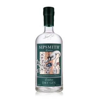 三得利(Suntory)金酒 希普史密斯金酒 SIPSMITH 英国伦敦洋酒杜松子酒 700ml 273元