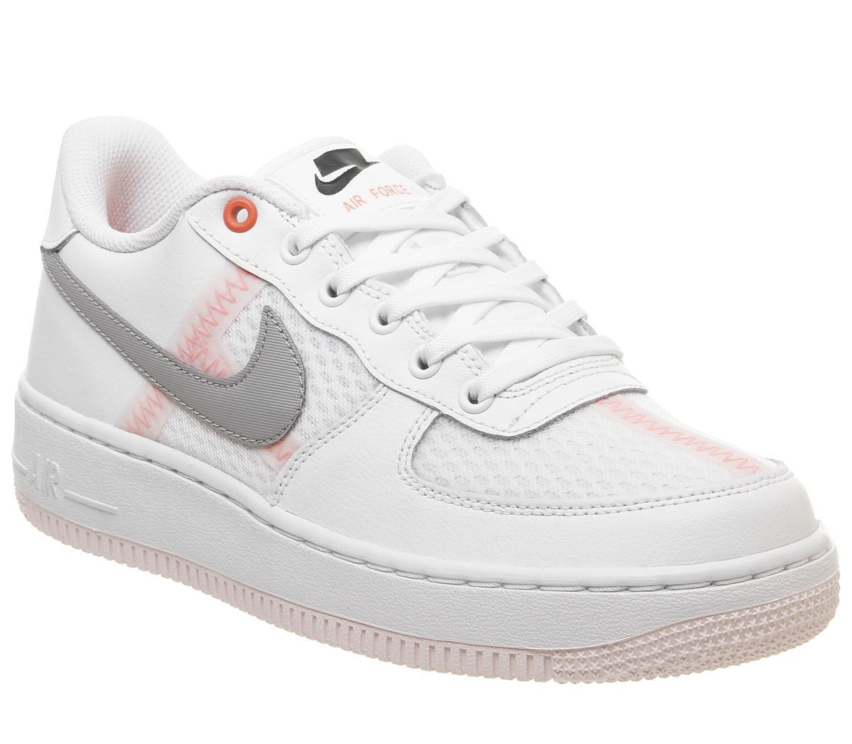 折合494.91元 Nike 耐克 Air Force 1 空军1号 白灰色运动鞋