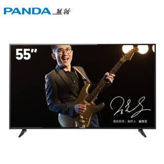 PANDA 熊猫 55F4AK 55英寸 4K 液晶电视 1499元