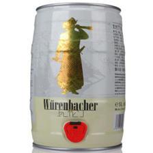 德国进口 瓦伦丁 小麦啤酒 5L*2桶 138元 平常88元/桶