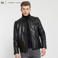 双11预售!ANDREW MARC MNY系列 男士立领皮夹克 540元包邮(需用券)
